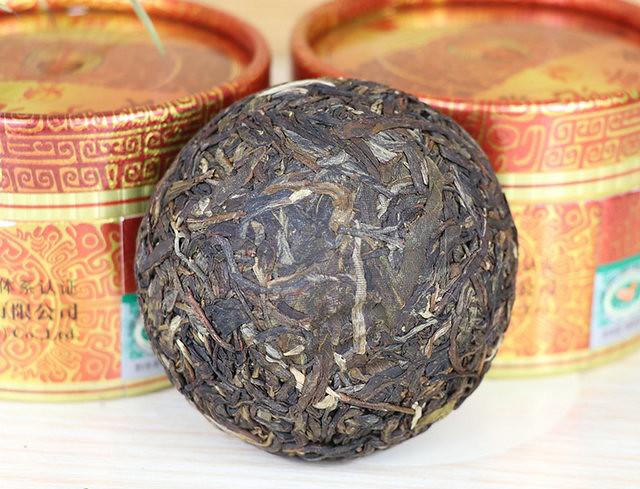 Free Shipping 2017 XiaGuan JinBang JiaZi Boxed Tuo Bowl  China Chinese YunNan DaLi Organic Pu'er Pu'erh Puerh Raw Tea Sheng Cha