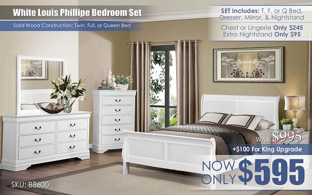 Louis Phillipe White OCT refresh