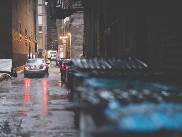 Night street  Chicago
