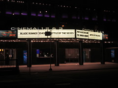 Blade Runner 2049 Theater Marquee 2017 NYC 2312