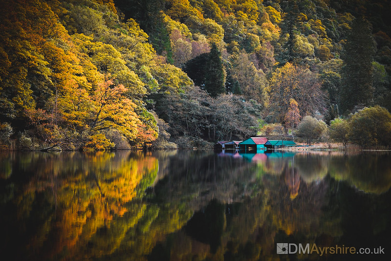Reflections on Loch Ard [5D4_6402]