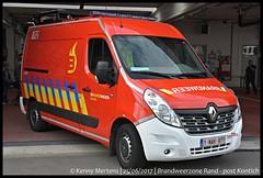 Brandweerzone Rand - post Kontich - Signalisatiewagen