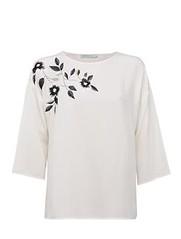 ฿2195 ESTIMATE เสื้อเบลาส์ รุ่น 1702EA18792 ไซส์ L สีขาว