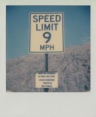 Speed Limit: Nine.