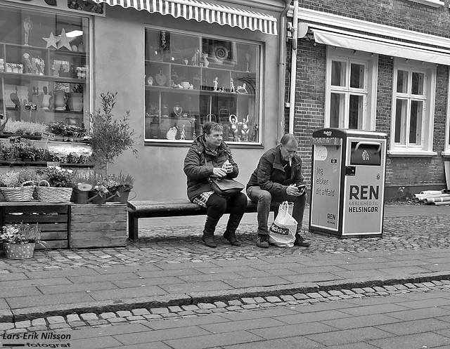 Street scene from Helsingör, Denmark