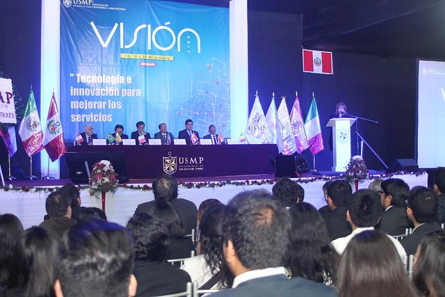 Facultad de Ingeniería y Arquitectura inauguró el XXII Congreso Internacional de Ingeniería, Ciencias Aeronáuticas y Arquiforo Visión 2017