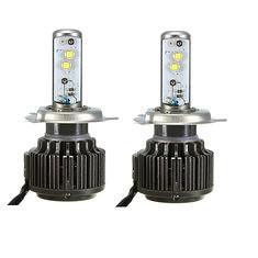 Pair 80W Turbo LED Headlight Bulbs 7800LM H4 Hi/Lo Super Bright Lights (1015078) #Banggood