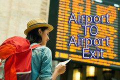 airport to airport exit