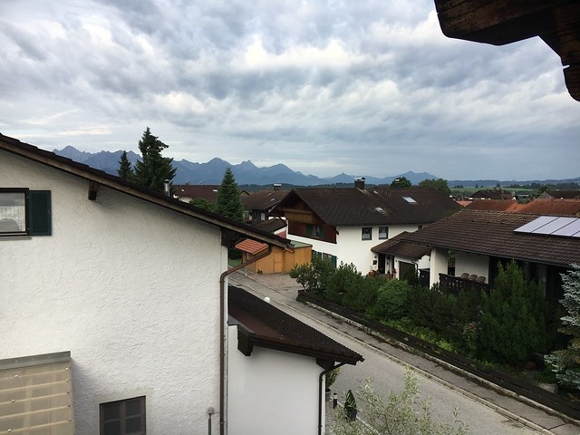 Rental balcony in Halblech