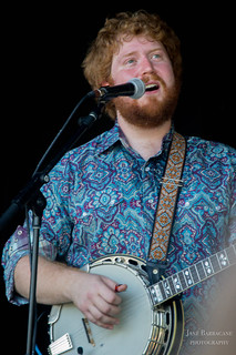 The Dirty Grass Players' Alex Berman on banjo