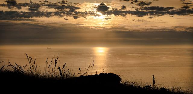 Golden Sunset. The Ons, Nikon D610, Sigma 24-70mm F2.8 IF EX DG HSM