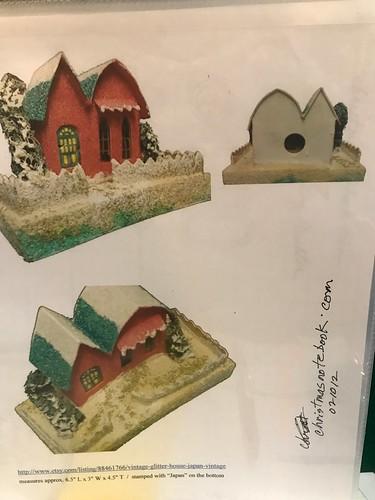 Vintage Putz house