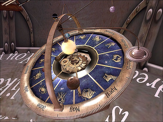Out of the Looking Glass/Into the Madness - Zodiac Astrolabe