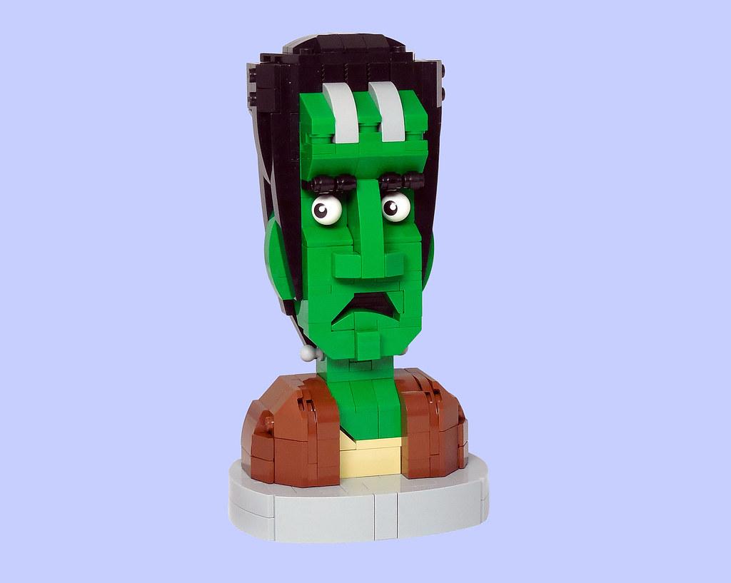 LEGO® MOC by Vitreolum: Frankenstein Monster Bust