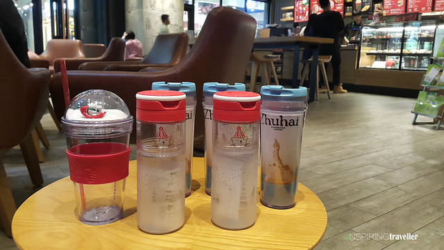 Titipan Tumbler Starbucks Zhuhai, China