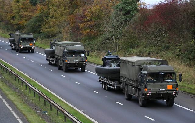 Military Vehicles MAN Convoy M74 Larkhall.