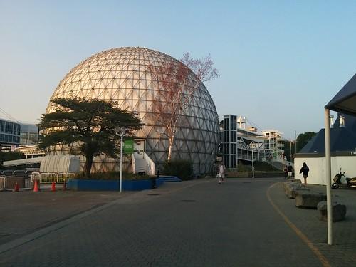 Cinesphere #toronto #ontarioplace #cinesphere #architecture #latergram