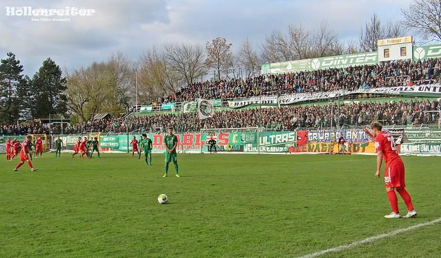 BSG Chemie Leipzig - FSV Zwickau