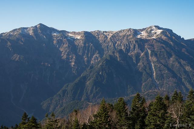 Shinhotaka Ropeway 2017.10.27 (9) Mount Kasa (Kasa-ga-take)