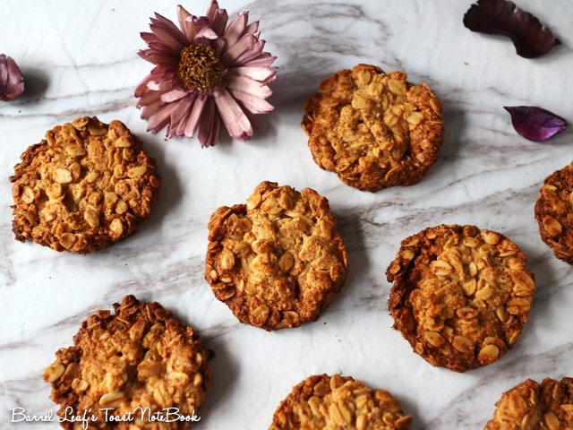 全素燕麥餅乾 (無麵粉) vegan-glutenfree-oatmeal-cookies (2)