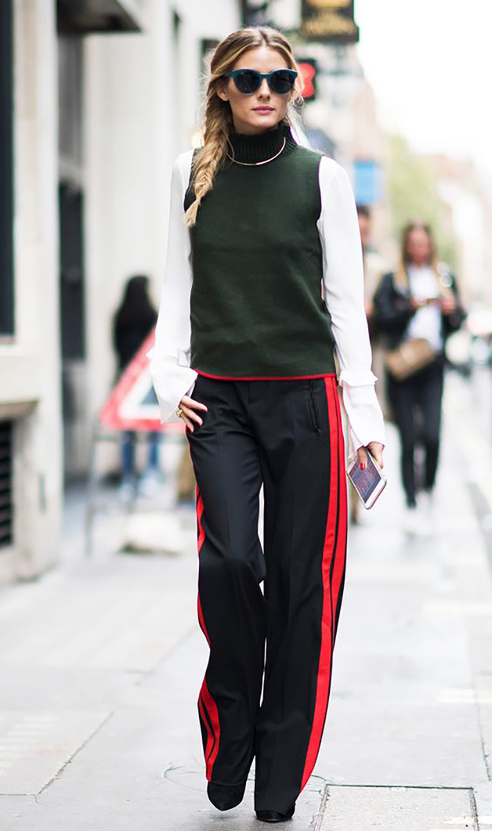 track pants autumn outfits street style inspiration trend style outfit 2017 accessories denim inspo5