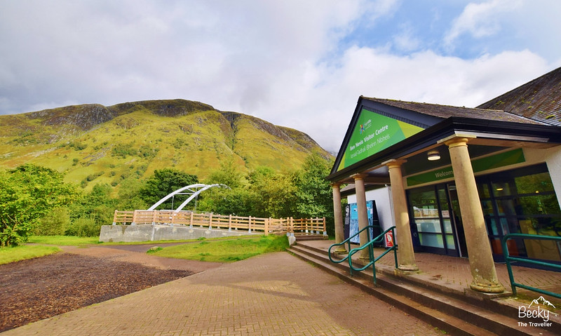 Glen Nevis Visitor Centre - the start for the Ben Nevis walk