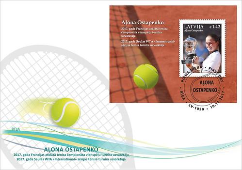 Aploksne Latvijas sports- Aļona Ostapenko