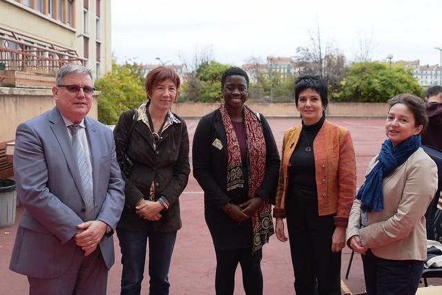 Une semaine en faveur de l'engagement organisée au lycée Juliette Récamier