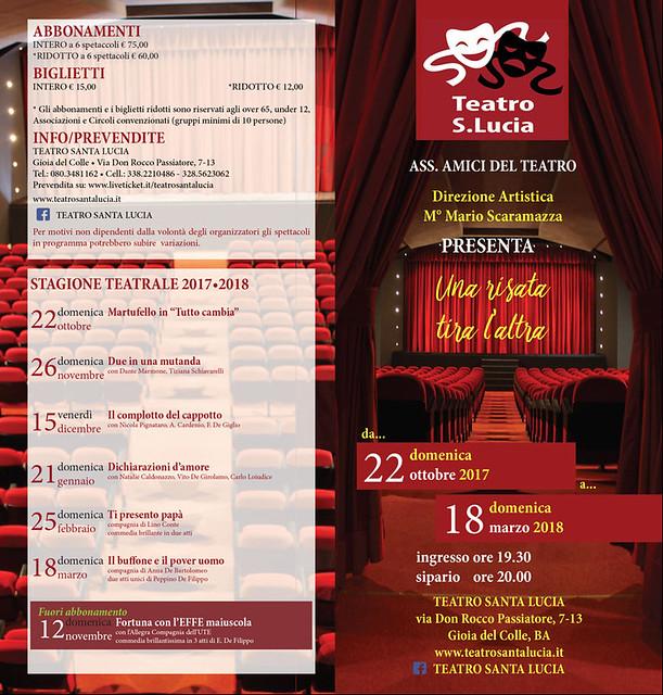nuova stagione teatro santa lucia