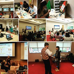 There is so much awesome learning going on at #CDLi17 right now! These educators and facilitators are equal parts inspiring & awesome! #ILoveMyJob #FIPL