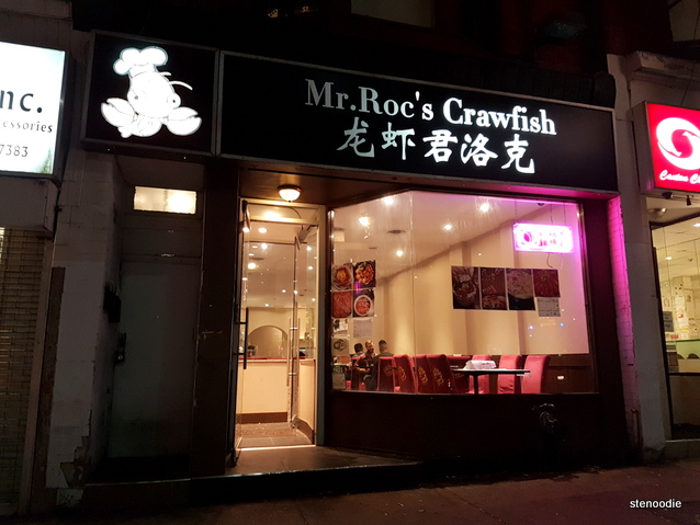Mr Roc's Crawfish storefront