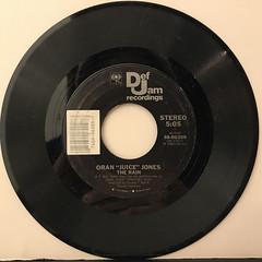 ORAN JUICE JONES:THE RAIN(RECORD SIDE-A)
