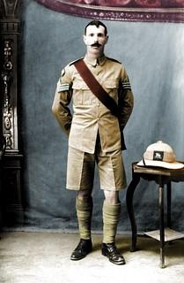 Pakistan Studio Photogrpah Colour WW1