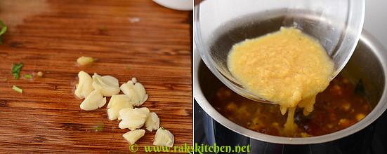 How to make cauliflower rasam 6