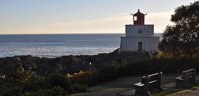 Sunset at Amphitrite Point Lighthouse