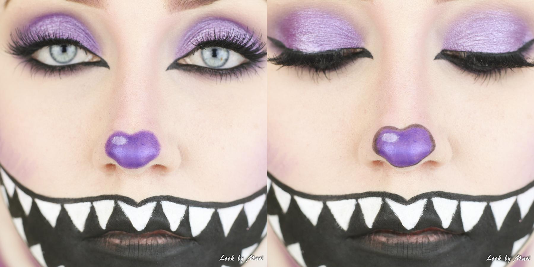 11 halloween kissa meikki helppo nopea lapsille värikäs