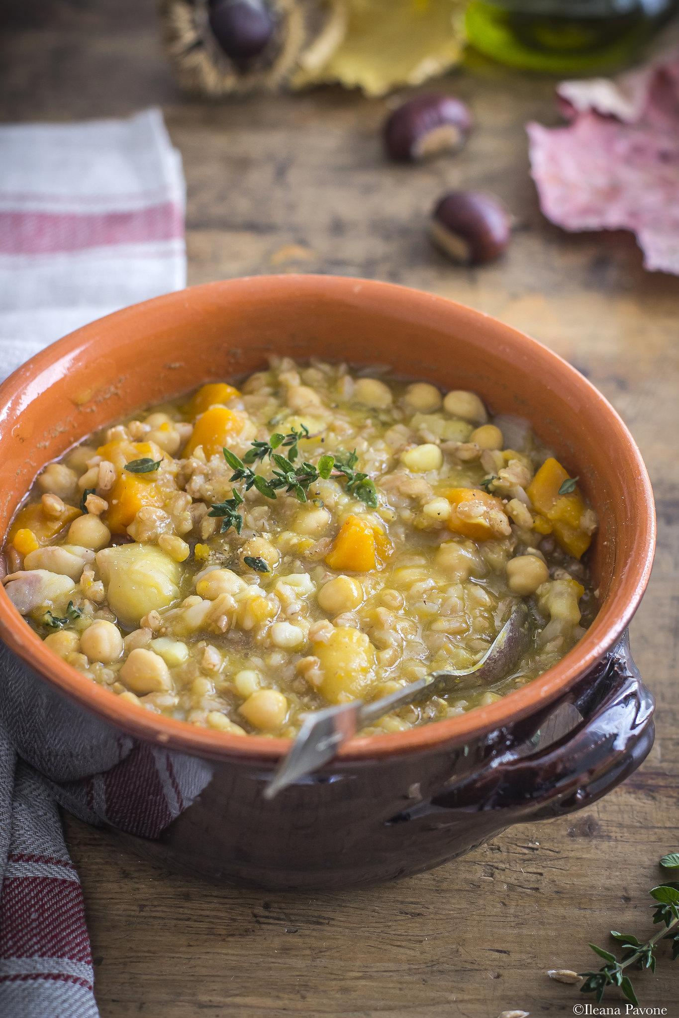 Zuppa di farro e castagne_4