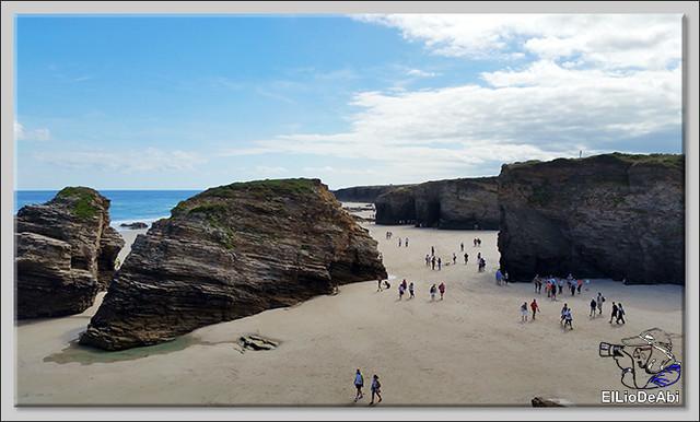 Paseo por la playa de las Catedrales  (7)