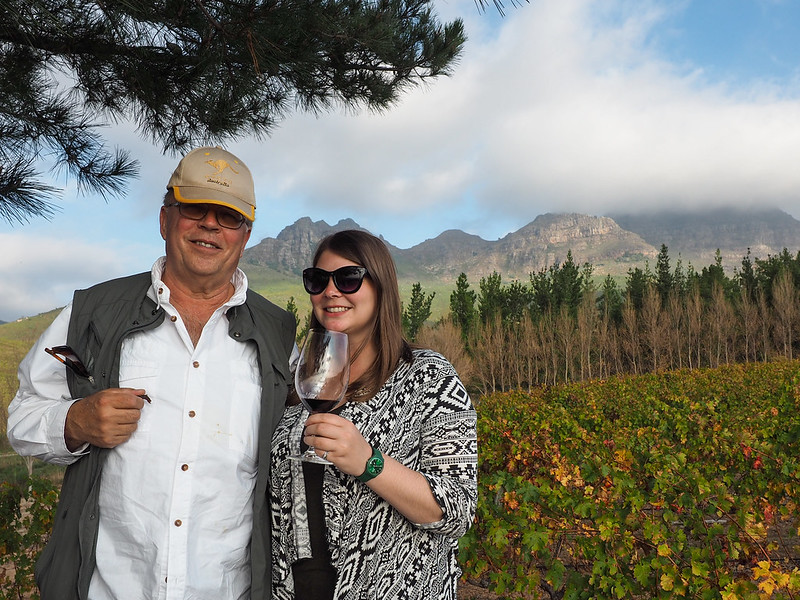 Amanda and Dad in South Africa