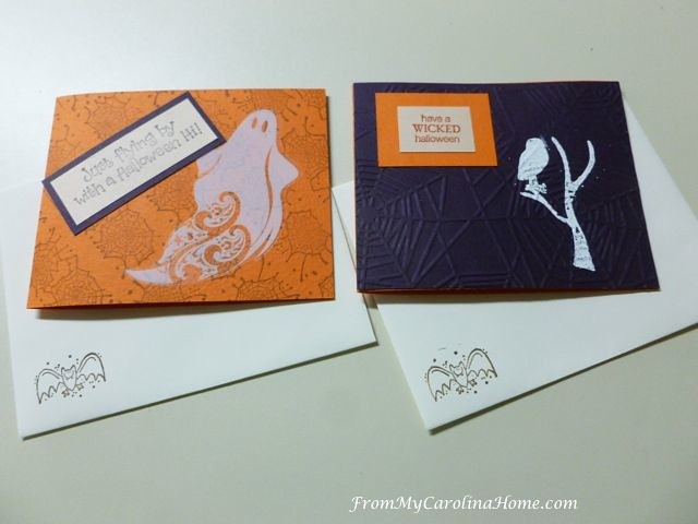 Halloween Cards for Autumn Jubilee at From My Carolina Home