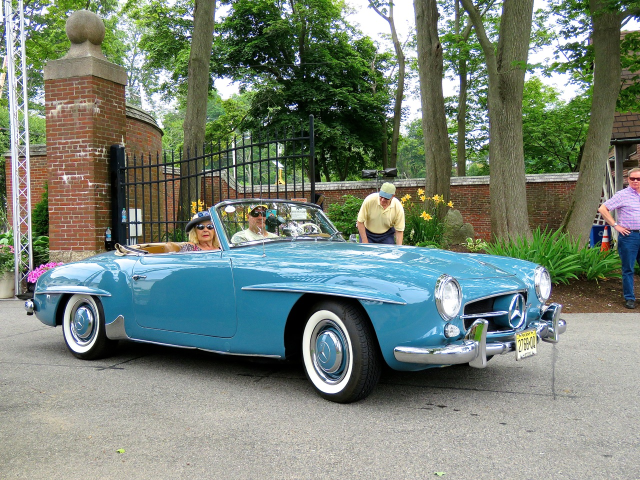 Mercedes 190 SL Misselwood 1