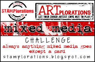 Stamplorations - Mixed Media Challenge