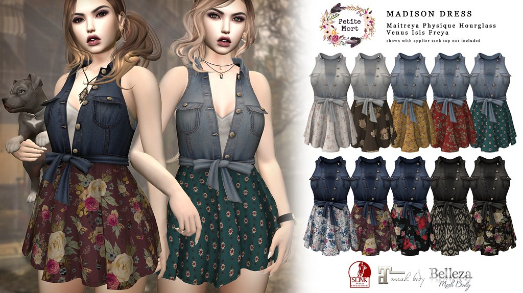 Petite Mort- Madison Dress
