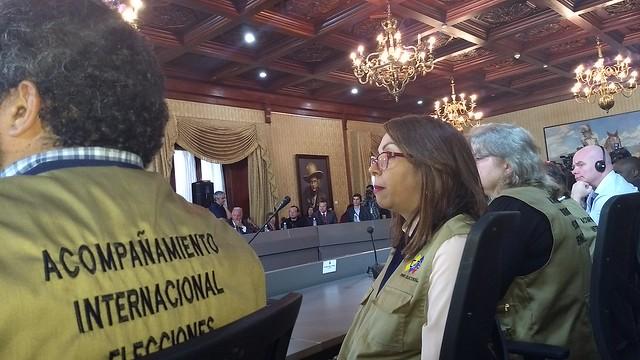 Sistema eleitoral venezuelano é altamente sofisticado, diz observador internacional