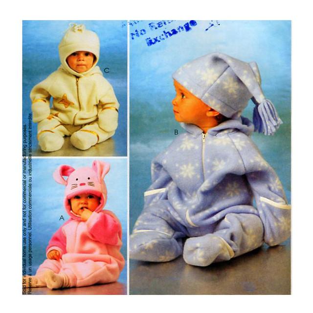 McCalls 2977 baby bunting bag pattern