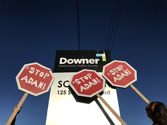 Message to Downer Group: drop your Adani contract or face continual disruption #stopAdani 20171017-StopAdani-Downer-Somerton-0113  IMG_4913