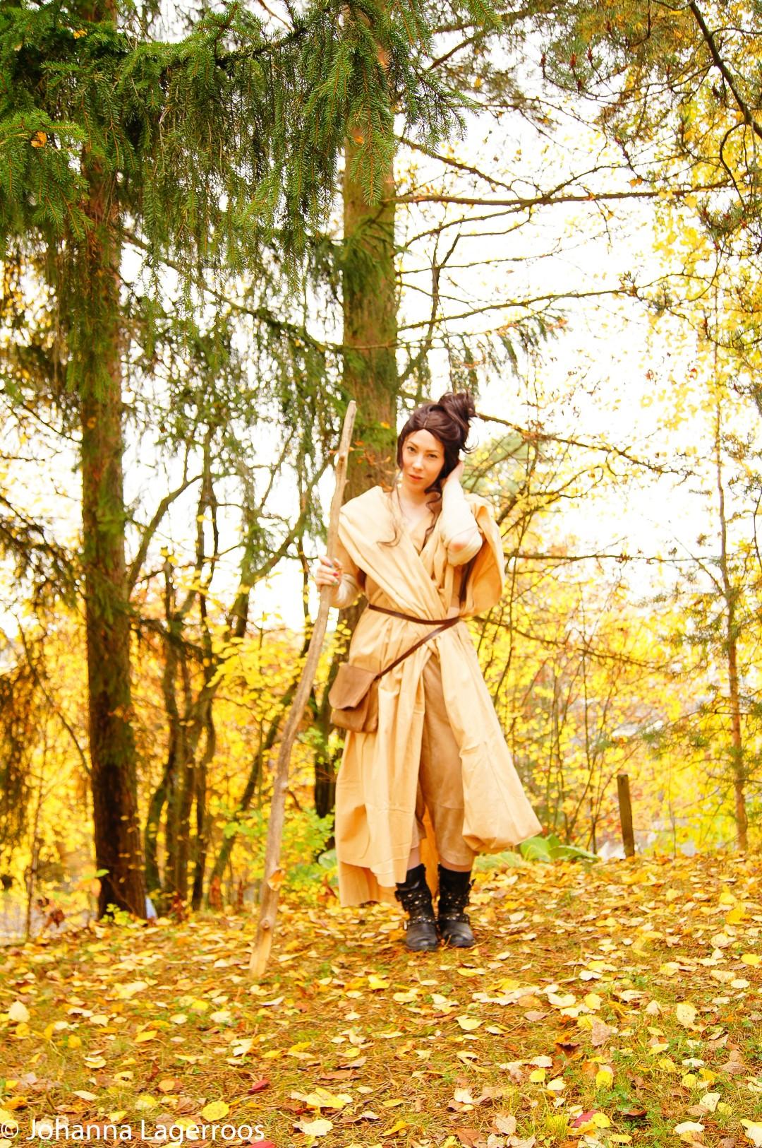 Rey isnpired costume