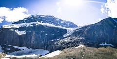 Mount Edith Cavell Angel Glaciers - Alberta, Canada (阿爾伯塔, 加拿大)