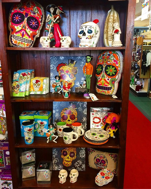 I want allll of the Day of the Dead things, thank you.