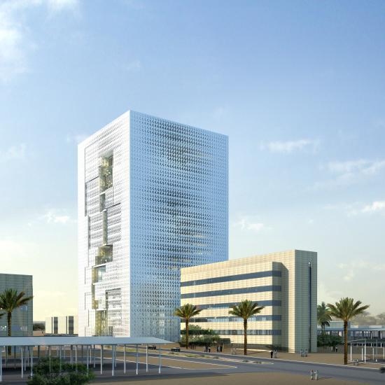 برج المعرفة – مقر مدينة الملك عبدالعزيز للعلوم والتقنية